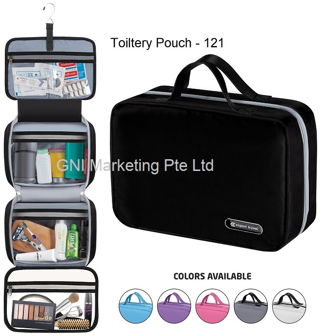 3 Fold Toiletries Pouch - 121