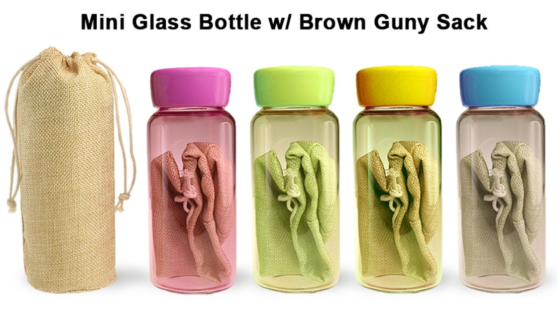 Mini Glass Bottle - 3388