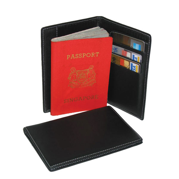 Leather Passport Holder - New