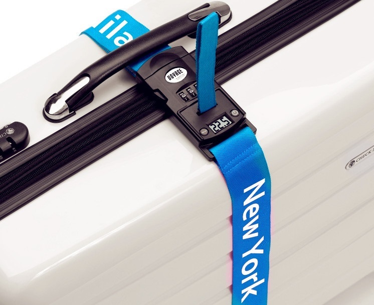 LS 109 Luggage Strap with Digital Weighting Scale