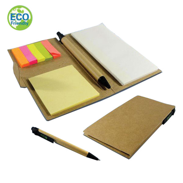 Recycle Memo Pad with Pen