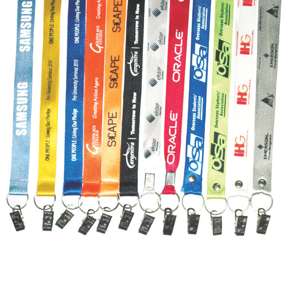 Silkscreen Nylon Lanyard - 20mm