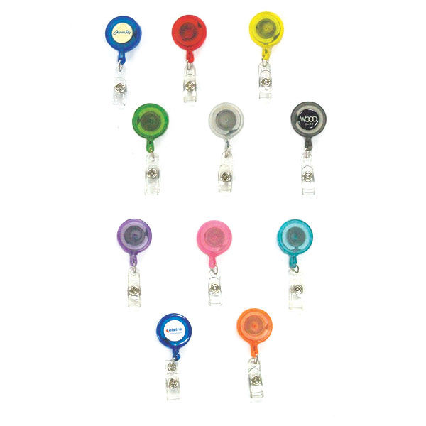 Transparent Coloured Pull Reels